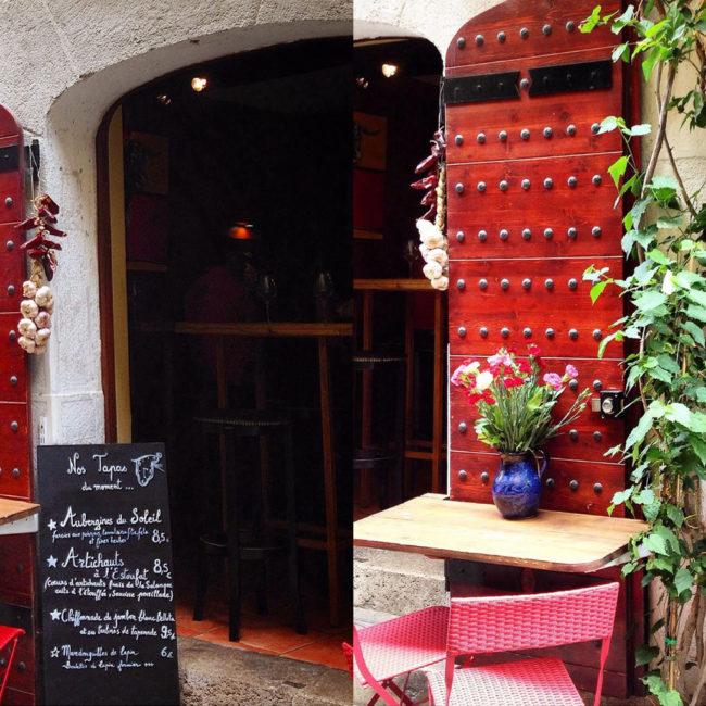 Le restaurant Casa Gala, bonne adresse de notre appart hôtel à Collioure.