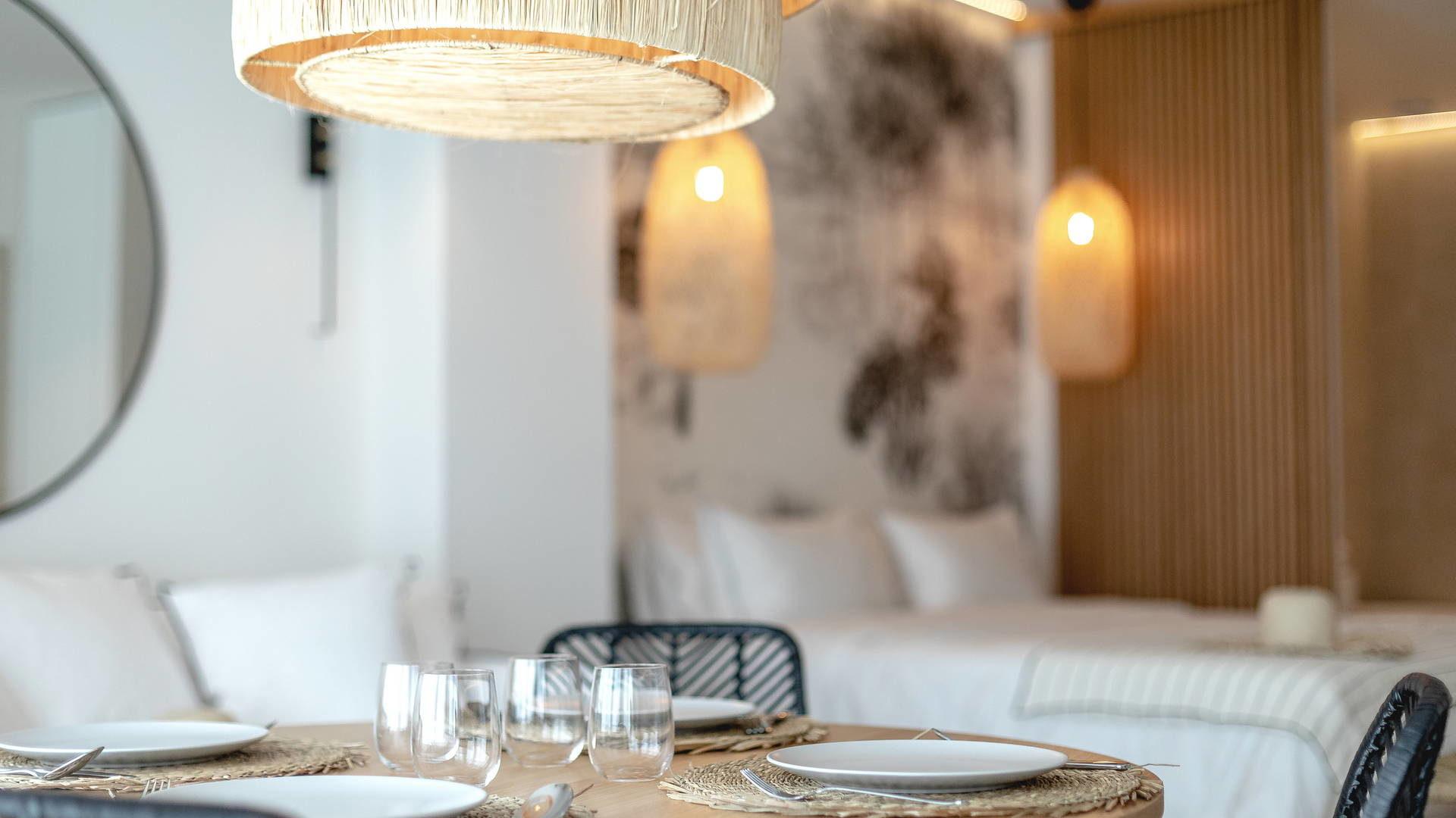 Table dréssée hotel languedoc roussillon