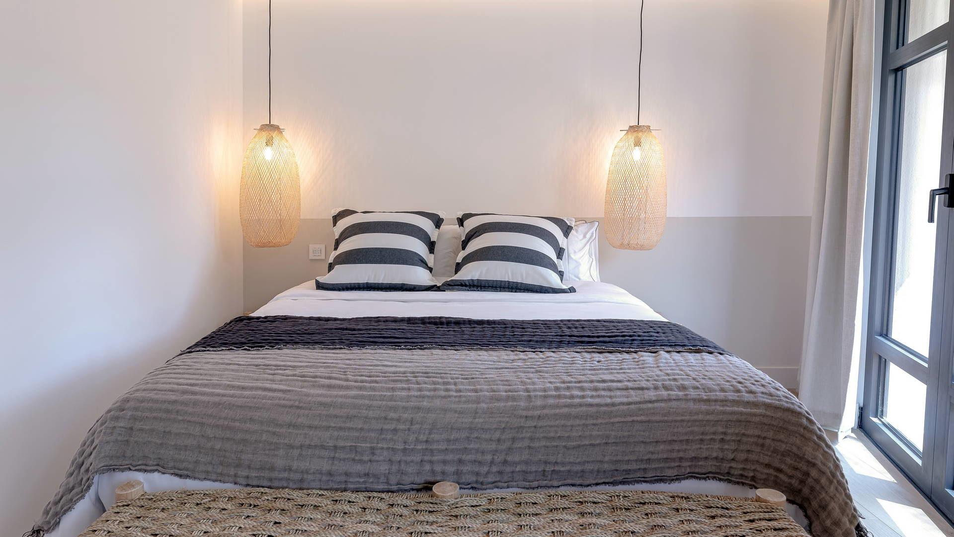 Chambre lumineuse hotel de charme banyuls