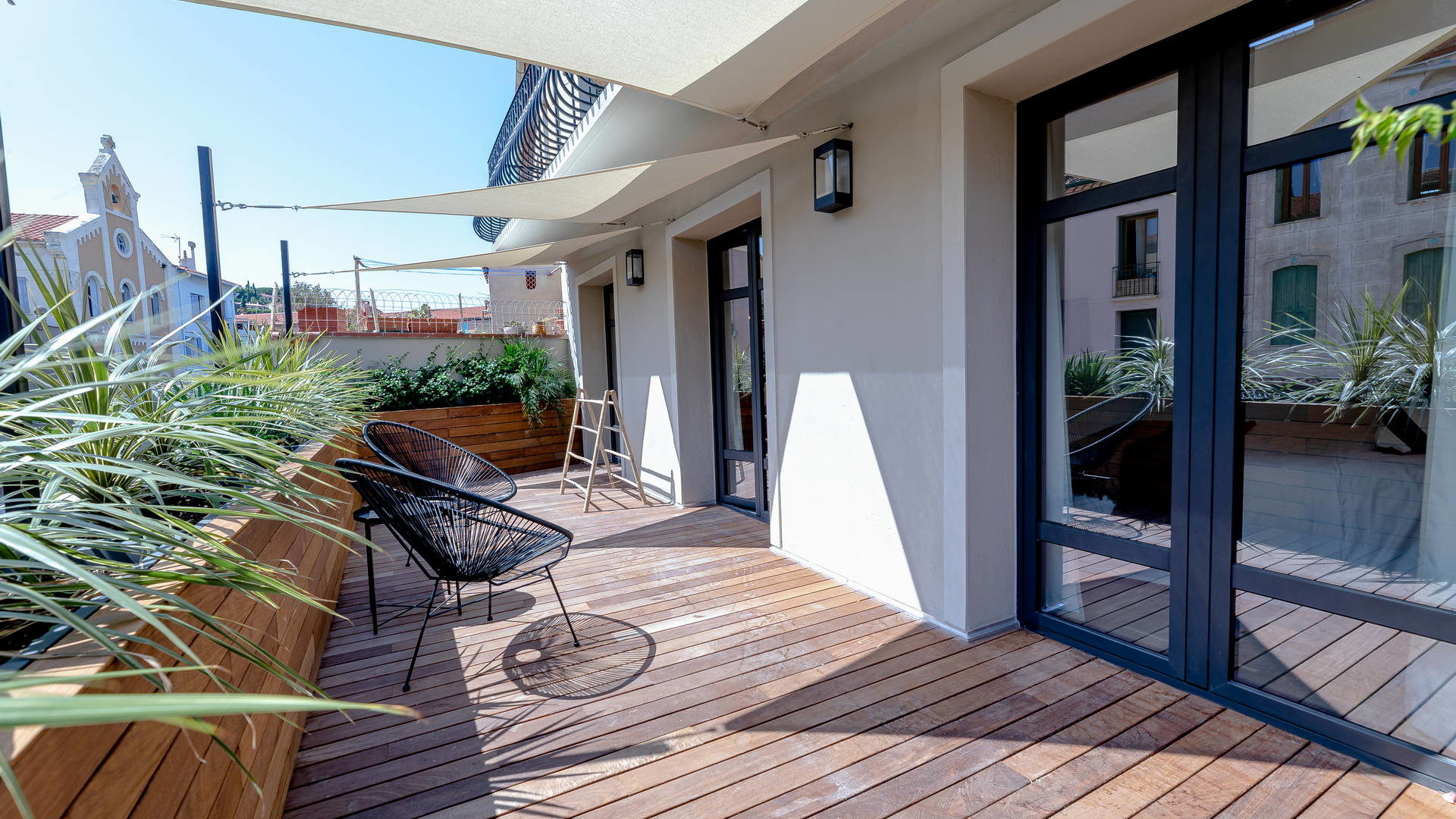 terrasse enssoleillée location vacances banyuls