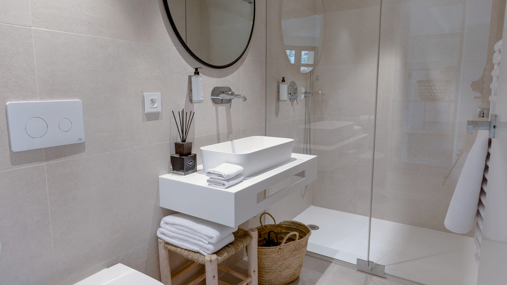 Salle de bain location appartement perpignan