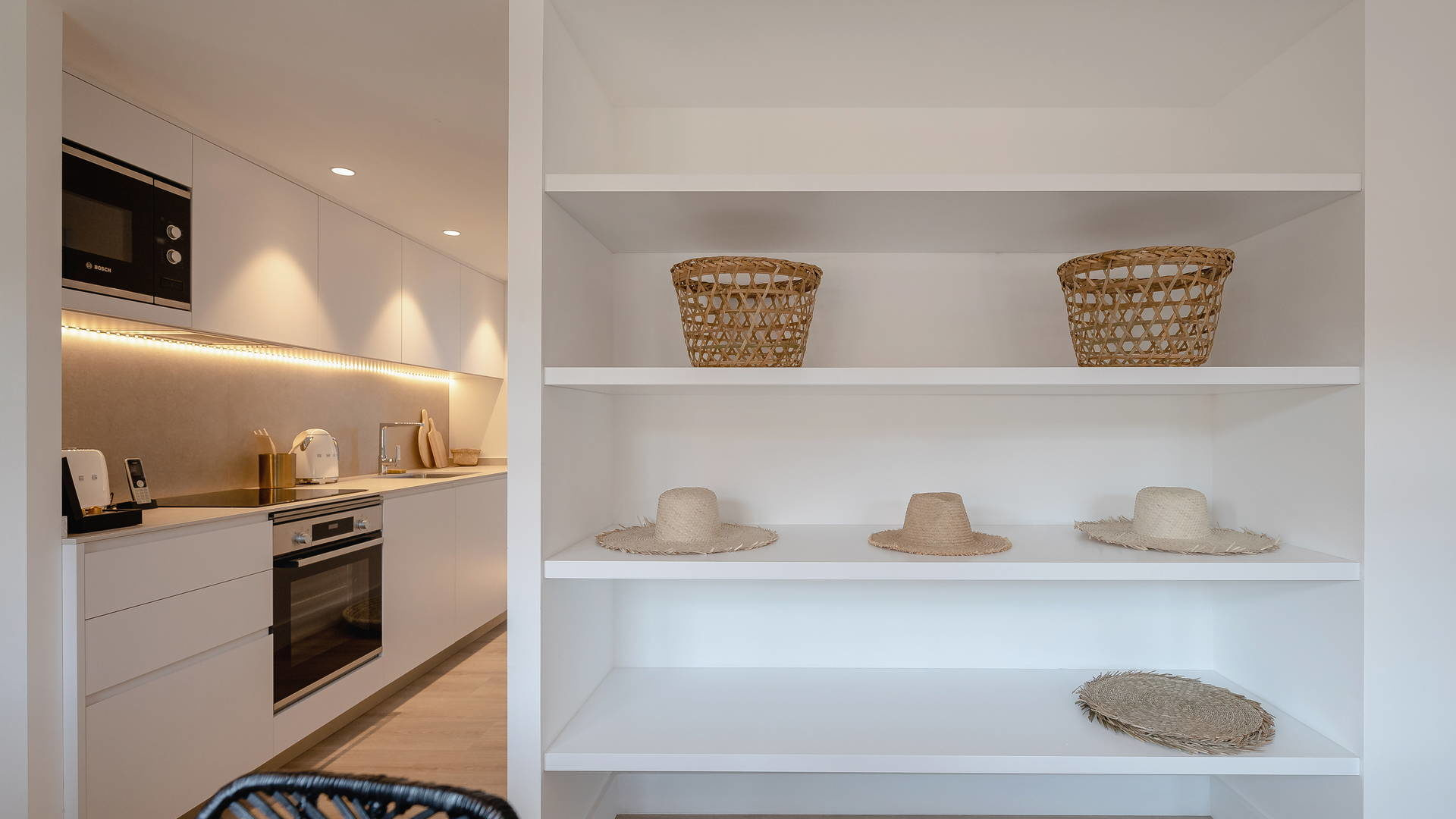 Mobilier moderne hotel collioure